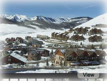 view from Bill's crested butte condo