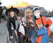 halloween crested butte