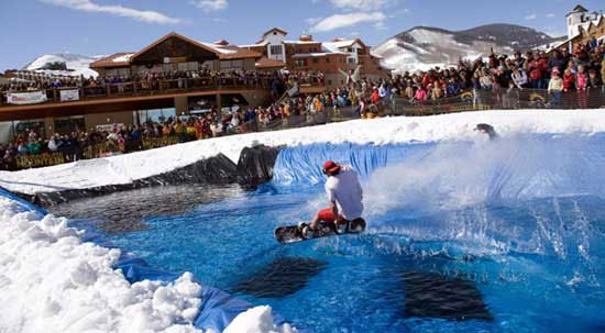 pond skim crested butte!