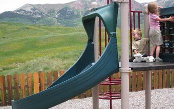 kids park in crested butte