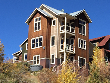 4 bedroom home in mt crested butte