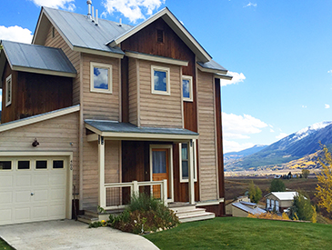4 bdrm home in mt crested butte