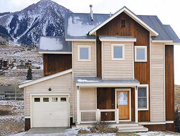 4 bdrm home in pitchfork crested butte