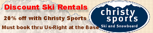 discount ski rentals crested butte