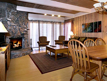 slopeside condo in summer in crested butte