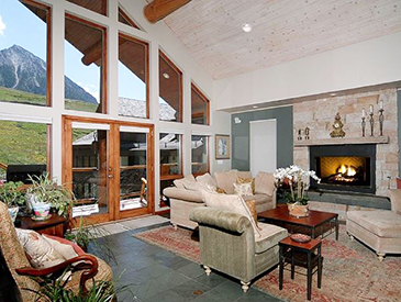 5 bedroom ski in and out home in crested butte - petfriendly
