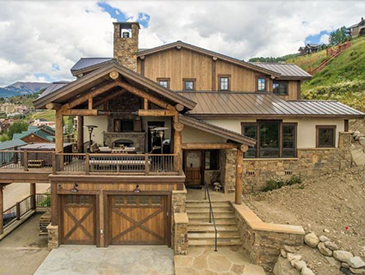 ski in and out crested butte 5 bedroom house for rent