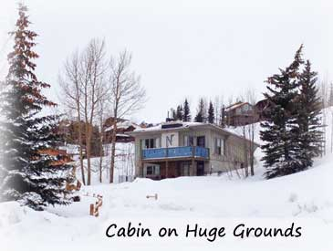 Nordic cabin 3 bdrm home in crested butte for Cabins near crested butte co