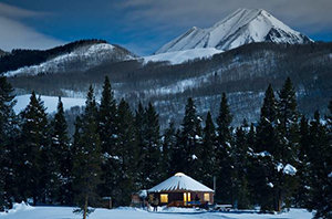 yurt dinner crested butte
