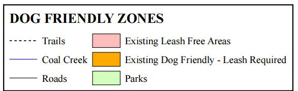 dog friendly areas in crested butte