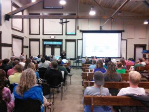 Tuesday talk series in Gothic at RMBL