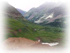 crested butte-high mountain hike in crested butte in summer