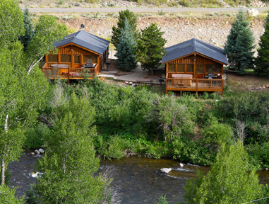 rental cabins in almont, colorado