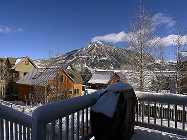 4 bedroom plus loft rental home in crested butte - pet friendly