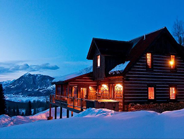 pet friendly home in crested butte