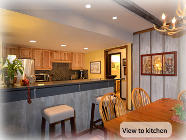 nice clean kitchen at anne's crested butte condo