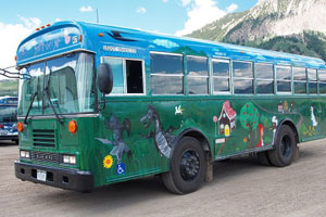 free bus in crested butte